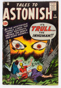 Silver Age (1956-1969):Horror, Tales to Astonish #21 (Marvel, 1961) Condition: VG+....