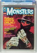 Magazines:Horror, Famous Monsters of Filmland #63 (Warren, 1970) CGC NM+ 9.6 White pages....