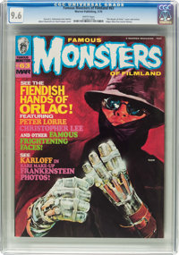 Famous Monsters of Filmland #63 (Warren, 1970) CGC NM+ 9.6 White pages