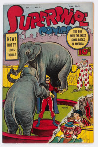 Supersnipe Comics V2#9 (Street & Smith, 1945) Condition: VF-