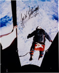 Autographs:Celebrities, Joe Kittinger Signed Color Photo of His Record Parachute Jump. ...