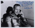 Autographs:Celebrities, Scott Carpenter Signed Photo with Extensive HandwrittenDescription. ...