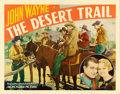 "Movie Posters:Western, The Desert Trail (Monogram, 1935). Half Sheet (22"" X 28"").Western.. ..."