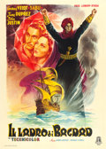 "Movie Posters:Fantasy, The Thief of Bagdad (Minerva Film, 1946). First Post War Italian 4- Fogli (55.5"" X 77.5"") Anselmo Ballester Artwork.. ..."