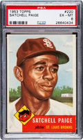 Baseball Cards:Singles (1950-1959), 1953 Topps Satchell Paige #220 PSA EX-MT 6....