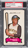 Baseball Cards:Singles (1960-1969), 1968 Topps Action Stickers Roberto Clemente #12 PSA EX 5....