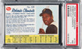 Baseball Cards:Singles (1960-1969), 1962 Post Cereal (Canada) Roberto Clemente #173 PSA NM 7....