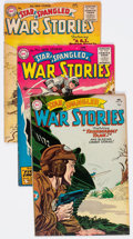 Golden Age (1938-1955):War, Star Spangled War Stories Group of 4 (DC, 1955) Condition: Average VG-.... (Total: 4 Comic Books)