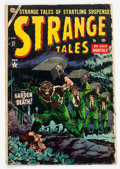 Golden Age (1938-1955):Horror, Strange Tales #27 (Atlas, 1954) Condition: GD....