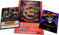 Memorabilia:Poster, Halloween Haunt Poster Group of 3 (1988, 1998, 2000).... (Total: 3Items)