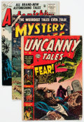 Golden Age (1938-1955):Horror, Atlas Comics Golden Age Horror Comics Group of 8 (Atlas, 1950s)Condition: Average GD.... (Total: 8 Comic Books)