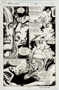 Original Comic Art:Panel Pages, Bruce Zick and Mike DeCarlo Thor #468 Page 7 Original Art (Marvel,1993)....