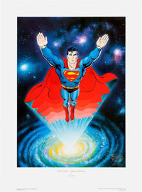 Curt Swan, Jose Luis Garcia Lopez, and George Perez - Superman 50th Anniversary Signed Limited Edition Prints Group of 3...