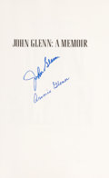 Autographs:Celebrities, John & Annie Glenn Signed Book: A Memoir....