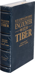 Autographs:Celebrities, Buzz Aldrin Signed Limited Edition Book, Still-Sealed (#310/1500): Encounter With Tiber....