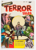 Golden Age (1938-1955):Horror, Beware Terror Tales #1 (Fawcett Publications, 1952) Condition:VG-....