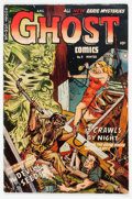 Golden Age (1938-1955):Horror, Ghost #9 (Fiction House, 1953) Condition: VG+....
