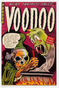 Golden Age (1938-1955):Horror, Voodoo #9 (Farrell, 1953) Condition: VG+....