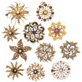 Estate Jewelry:Brooches - Pins, Diamond, Garnet, Glass, Seed Pearl, Gold, Gold-Filled Brooches. ... (Total: 11 Items)
