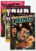 Golden Age (1938-1955):Horror, Comic Books - Assorted Golden Age Horror Comics Group of 7 (VariousPublishers, 1950s) Condition: Average GD.... (Total: 7 Comic Books)