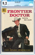 Silver Age (1956-1969):Western, Four Color #877 Frontier Doctor (Dell, 1958) CGC NM- 9.2 Whitepages....
