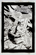 Original Comic Art:Splash Pages, Cliff Chiang Golden Age Secret Files #1 Splash Page 1Original Art (DC, 2001)....