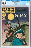 Golden Age (1938-1955):Adventure, Classics Illustrated #51 The Spy - Original Edition - ChristmasCarol Variant (Gilberton, 1948) CGC VF+ 8.5 Off-white pages....