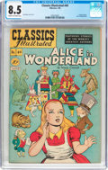 Golden Age (1938-1955):Classics Illustrated, Classics Illustrated #49 Original Edition (Gilberton, 1948) CGC VF+ 8.5 Cream to off-white pages....
