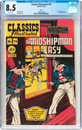 Golden Age (1938-1955):Classics Illustrated, Classics Illustrated #74 Mr. Midshipman Easy - Original Edition(Gilberton, 1950) CGC VF+ 8.5 Off-white pages....