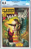 Golden Age (1938-1955):Classics Illustrated, Classics Illustrated #78 Joan of Arc - Original Edition (Gilberton,1950) CGC VF+ 8.5 Off-white pages....