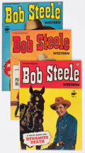 Golden Age (1938-1955):Western, Bob Steele Western #2, 3, and 5 Group (Fawcett Publications,1951).... (Total: 3 Comic Books)