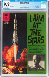 Four Color #1148 I Aim at the Stars (Dell, 1961) CGC NM- 9.2 White pages