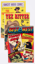 Golden Age (1938-1955):Western, Golden Age Western Group of 12 (Various Publishers, 1950s) Condition: Average VG.... (Total: 12 Comic Books)