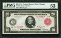 Fr. 958a $20 1914 Red Seal Federal Reserve Note PMG About Uncirculated 53
