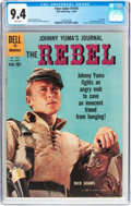 Silver Age (1956-1969):Western, Four Color #1076 The Rebel (Dell, 1960) CGC NM 9.4 White pages....