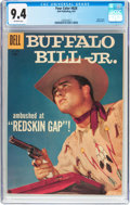 Silver Age (1956-1969):Western, Four Color #828 Buffalo Bill Jr. (Dell, 1957) CGC NM 9.4 Off-whitepages....