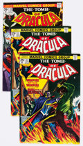 Bronze Age (1970-1979):Horror, Tomb of Dracula Group of 47 (Marvel, 1974-79) Condition: AverageVF-.... (Total: 47 Items)