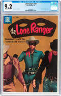 Silver Age (1956-1969):Western, Lone Ranger #121 (Dell, 1958) CGC NM- 9.2 Off-white to whitepages....