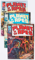 Magazines:Science-Fiction, Planet of the Apes Group of 9 (Marvel, 1974-76) Condition: AverageFN+.... (Total: 9 Items)