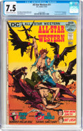 Bronze Age (1970-1979):Western, All-Star Western #11 (DC, 1972) CGC VF- 7.5 Off-white to white pages....