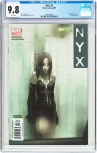 NYX #3 (Marvel, 2004) CGC NM/MT 9.8 White pages