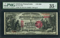 National Bank Notes:Pennsylvania, Saltsburg, PA - $5 1875 Fr. 405 The First NB Ch. # 2609. ...