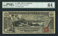Large Size:Silver Certificates, Fr. 224 $1 1896 Silver Certificate PMG Choice Uncirculated 64.. ...