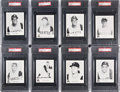 Baseball Cards:Sets, 1963 I. D. L. Drug Store Pittsburgh Pirates Graded Near Set (25/26) - #2 on the PSA Set Registry Plus Extras. ...