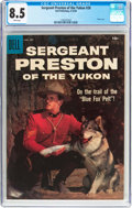 Silver Age (1956-1969):Adventure, Sergeant Preston of the Yukon #28 (Dell, 1958) CGC VF+ 8.5 White pages....