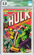 Bronze Age (1970-1979):Superhero, The Incredible Hulk #181 (Marvel, 1974) CGC Qualified VG/FN 5.0 Off-white pages....