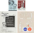 Explorers:Space Exploration, NASA Manned Flight Awareness Posters: Eight Different Originals, Snoopy Collection Number One.... (Total: 8 Items)