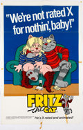 Memorabilia:Poster, Robert Crumb Fritz the Cat Movie Posters Group of 2(Cinemation, 1972-74).... (Total: 2 Items)