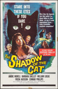 "Movie Posters:Horror, The Shadow of the Cat (Universal International, 1961). One Sheet(27"" X 41""). Horror.. ..."