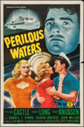"Movie Posters:Drama, Perilous Waters (Monogram, 1948). One Sheet (27"" X 41""). Drama.. ..."